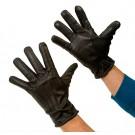 Viiltosuojahansikkaat nahka/Kevlar talvimalli, Combat Gloves